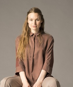 Silk-Wool-Blouse - Alma & Lovis