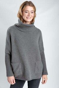 Adela Batwing Wool Jumper - bibico