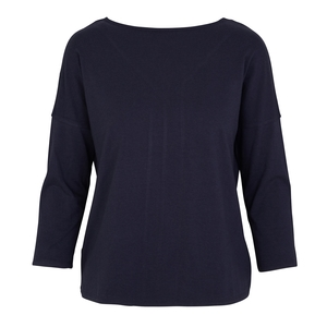 PEARL - 3/4 Sleeve Top - Blueberry - Frieda Sand