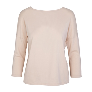 PEARL - 3/4 Sleeve Top - Sand - Frieda Sand