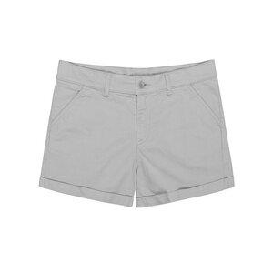 Chino Shorts Damen Grau - bleed