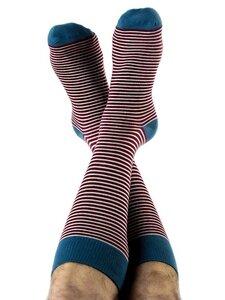 3 Paar Ringel Socken 6 Farben Bio-Baumwolle geringelt gestreift - Albero