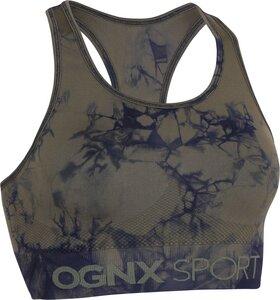 Sports Bra Batik Olive-Navy - OGNX