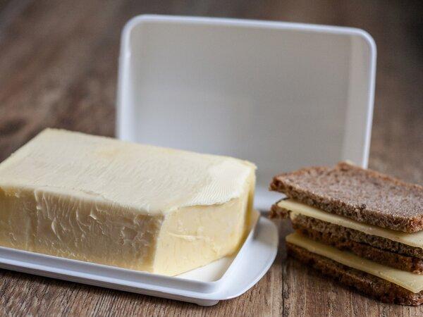 Vegane Butterdose