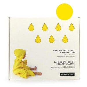 Kapuzentuch & Waschlappen Lemon im Set - EKOBO