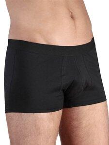 10 er Pack Trunk Shorts Bio-Baumwolle Unterhose Pants Retro schwarz - Albero