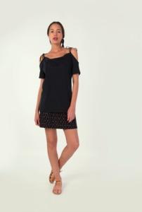 IZUA T-Shirt - Black - skunkfunk