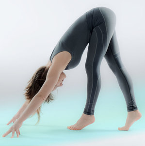 Dynamic Legging . Biobaumwolle Grau - nice to meet me