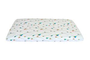 Baby Spannbetttücher Bio-Baumwolle Kinder 70x140cm Spannbettlaken - ege organics