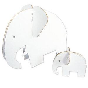 Die Elefantenfamilie aus recycelter Pappe 'Fanti' - 4betterdays