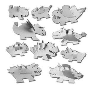 10 verschiedene Drachen aus Pappe 'Dragon' -  - 4betterdays