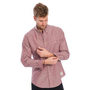 Oxford Hemd Rot - bleed