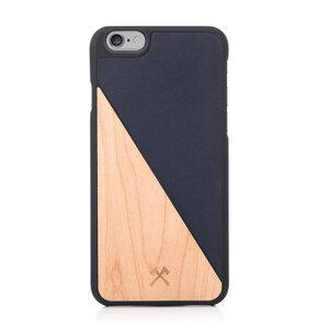 EcoSplit iPhone Case, Hülle aus Holz und Kunstleder - Woodcessories