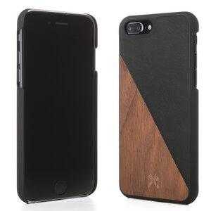 iPhone Hülle EcoSlpit aus Holz und Kunstleder - Woodcessories