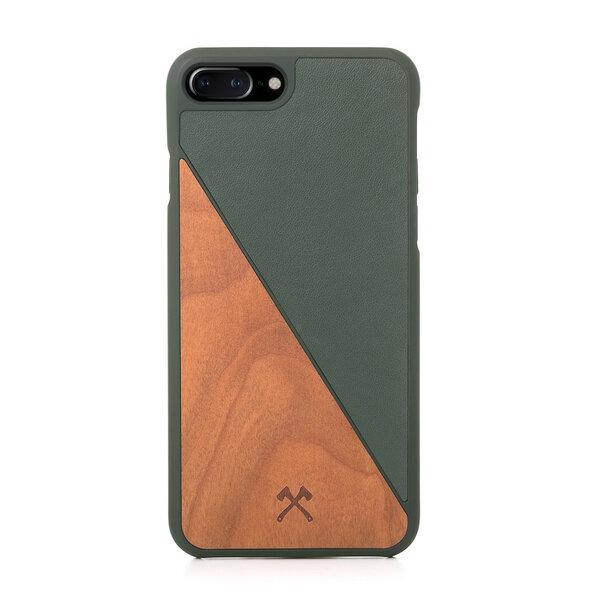 EcoSplit iPhone Case, Hülle aus Holz und Kunstleder