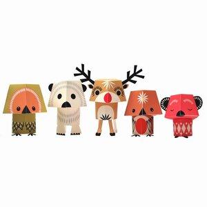 Papier-Bastel-Set Christmas Creatures - mibo