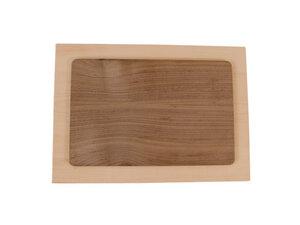 Schneidebrett mit Nuss 36x26 - 'Kitchenboard Basic' - 4betterdays
