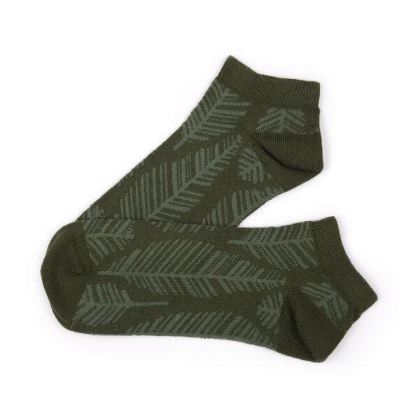 bleed Feathery Sneaker Socken Oliv | Avocadostore