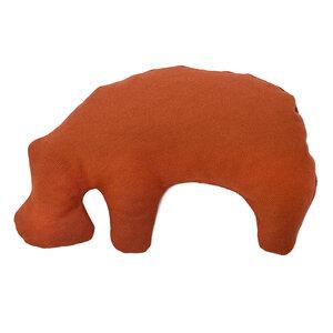 Öko Spielzeug für Welpen & kleine Hunde - Nilpferd aus Granada - Grüne Pfote®