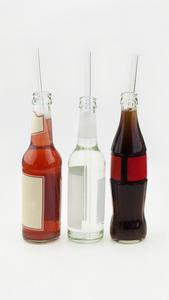 HALM Trinkhalm Glas 30 cm 1x Glastrinkhalm für 0,33 & 0,5 L Flaschen  - HALM