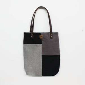 Shopper aus recyceltem Denim (Unikat) - Bridge&Tunnel