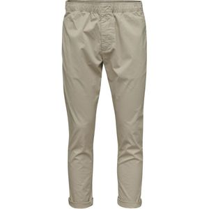 Loose Pant with string inside waist GOTS Feather Grey - KnowledgeCotton Apparel