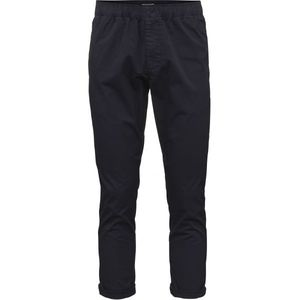 Loose Pant with string inside waist GOTS Total Eclipse - KnowledgeCotton Apparel
