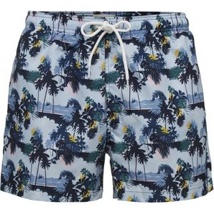 Palm printed Swimshorts Badehose GRS - KnowledgeCotton Apparel