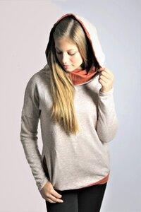 Bio Pullover `Mugl Sweat` Vintage caramel / rost - Frija Omina