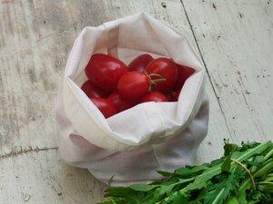 Obst und Gemüse Beutel im 4er Set - Naturtasche