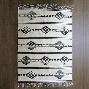 Handgewebter Kelim, Teppich Medaillon - Kiliim