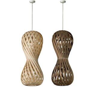 Pendelleuchte SWING - aufregende Lampe aus Holzfurnier - 4betterdays
