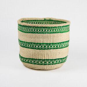 Sisalkorb Green Bush M - Hadithi