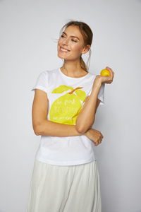 Charityshirt 'citrus' - Lanius