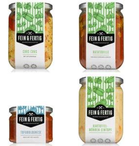 Fein und Fertig Food Box Vegan Small - Fein und Fertig