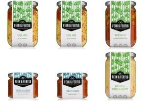 Fein & Fertig Food Box Vegan Large - Fein und Fertig
