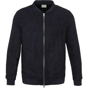 Suede Jacket GRS Total Eclipse - KnowledgeCotton Apparel