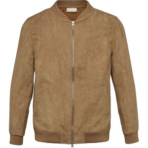 Suede Jacket GRS Tuffet - KnowledgeCotton Apparel