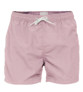 Badehose - Swim Shorts Solid - Orchid Pink - KnowledgeCotton Apparel