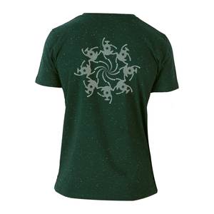 Kornkreis-Tanz - Siebdruck T-Shirt  - Sacred Designs