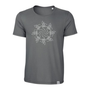 Kornkreis-Tanz - Siebdruck T-Shirt  - Sacred Designs