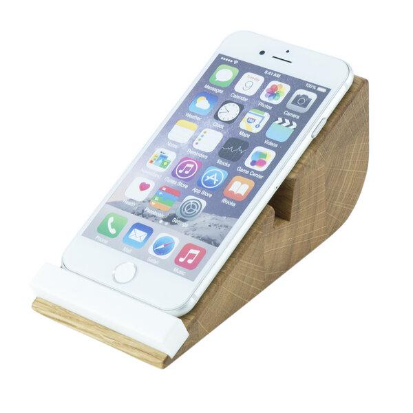 holzbutiq smartphone halter cela 5 iphone halterung. Black Bedroom Furniture Sets. Home Design Ideas