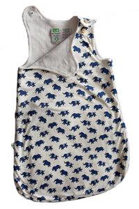 Baby Schlafsack Bio-Baumwolle Ärmellos 0-6 Monate oder 6-18 Monate  - ege organics