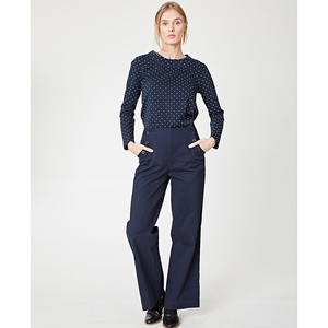MILLAY SLACKS - Blau - Thought | Braintree