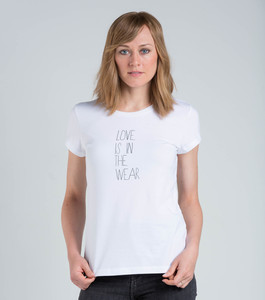 T-Shirt Love is in the wear - [eyd] humanitarian clothing