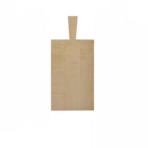 Klassisch schlichtes Jausenbrett aus massivem Holz  - 4betterdays