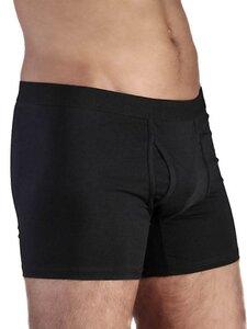 8 er Pack Herren Boxershorts Bio-Baumwolle Unterhose schwarz grau - Albero