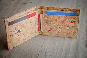 Portemonnaie aus Recycling - Kork / Vegan / Cork Wallet  - BY COPALA