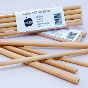 Bambus Strohhalme, wiederverwendbar - Brotzeit