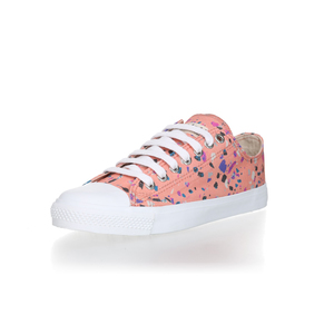 Fair Trainer Lo Cut Collection 18 Terrazzo Rose | Just White - Ethletic